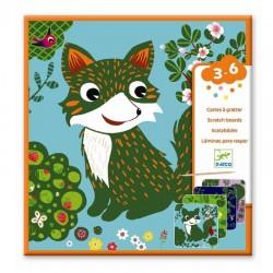 Kras Platen Kleine dieren / Bosdieren | Djeco -