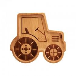 Bamboe bord Tractor | Sass & Belle -