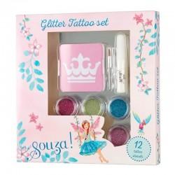 Glitter tattoo set   Souza for Kids -