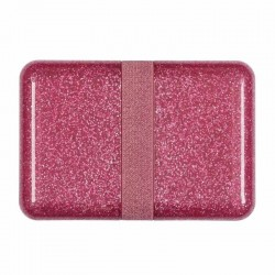 Broodtrommel Glitter Roze | A Little Lovely Company -
