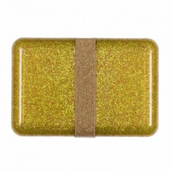 Broodtrommel Glitter Goud | A Little Lovely Company -