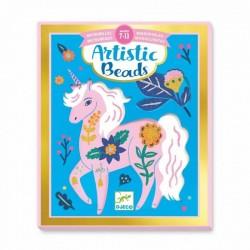 Artistic Beads Flowers & Aniamals | Djeco -