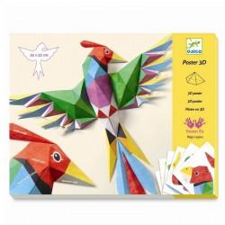 3D Poster Amazone | Djeco -
