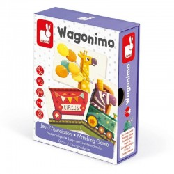 Spel Wagonimo | Janod -