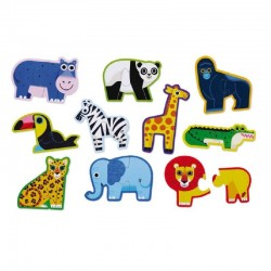 Puzzel Jungle Let's Begin | Crocodile Creek -