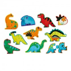 Puzzel Dino Let's Begin | Crocodile Creek -