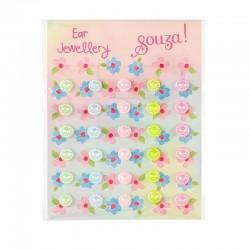 Plakoorbellen Pastel dots | Souza for Kids -