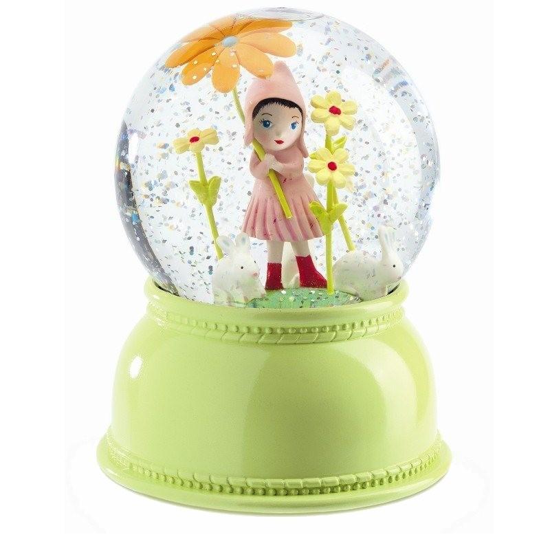 Sneeuwbol lamp meisje   Djeco -
