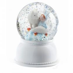 Sneeuwbol lamp Lila & Pupi | Djeco -