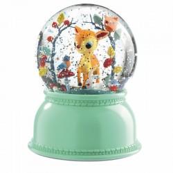 Sneeuwbol lamp hertje | Djeco -