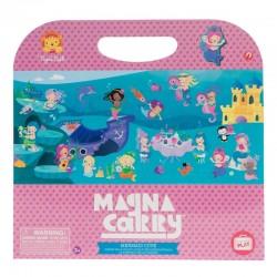 Magneetboek Mermaids / Zeemeerminnen | Tiger Tribe -