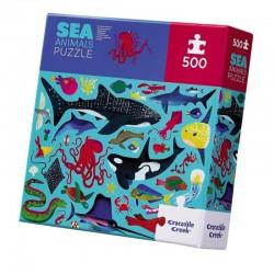 Puzzle Sea Animals | Crocodile Creek -
