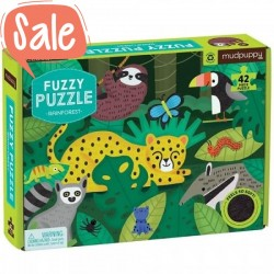 Voel puzzel Rainforest   Mudpuppy -