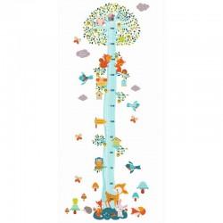 Muurstickers Groeimeter Dierenboom | Djeco -
