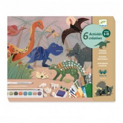 Knutselpakket Dino's | Djeco -