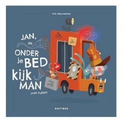 Jan, de onder je bed kijk man (met hulpje) | Prentenboek -