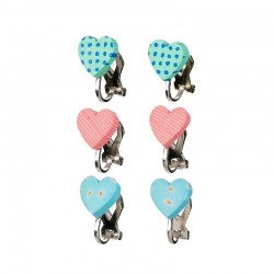 Oorclips Filipa roze/mint | Souza for Kids -