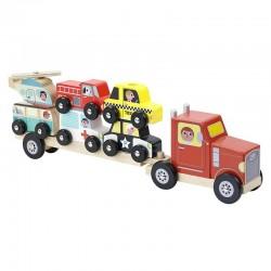Stapel vrachtwagen Voertuigen | Vilac -