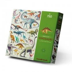Puzzel Wereld van de Dino's (750 st) | Crocodile Creek -