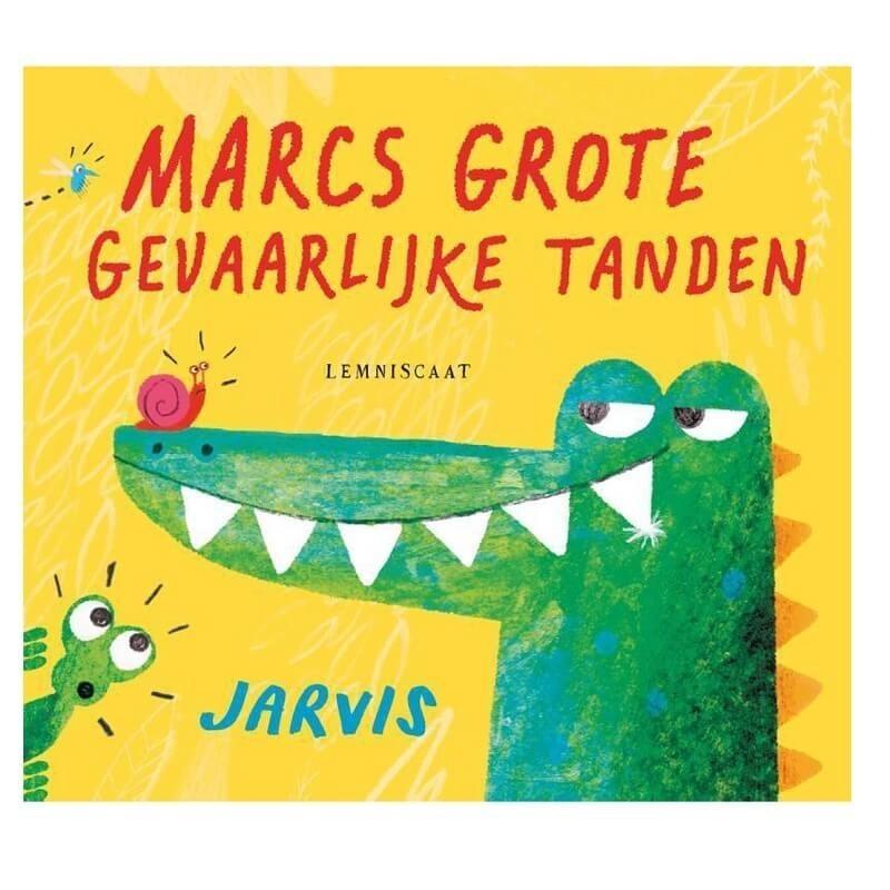 Marcs Grote Gevaarlijke Tanden   Prentenboek -
