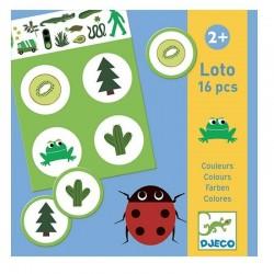 Loto / Bingo Kleuren | Djeco -