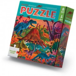 Folie Puzzel Dinosaurus | Crocodile Creek -