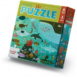 Folie Puzzel Zee | Crocodile Creek -