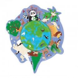 Puzzel Werelddieren | Scratch -