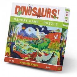 Memory + Puzzel Dinosaurus | Crocodile Creek -