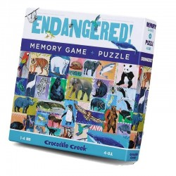 Memory + Puzzel Endangered | Crocodile Creek -