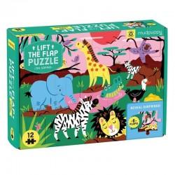 Flapjes Puzzel Safari | Mudpuppy -