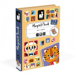 Magneetboek Mix & Match Animals | Janod -