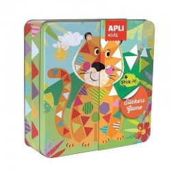 Stickerspel Jungle | Apli Kids -