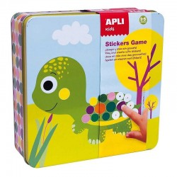 Stickerspel Dieren | Apli Kids -