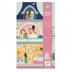Vloerpuzzel Prinsessen toren | Djeco -