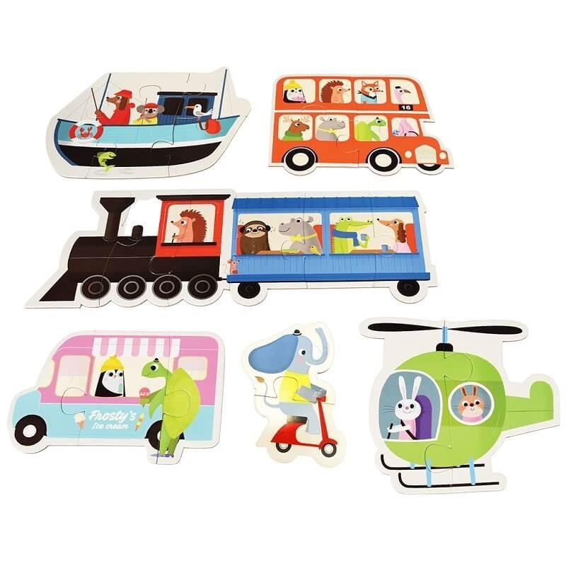 Puzzels Transport | Rex London -