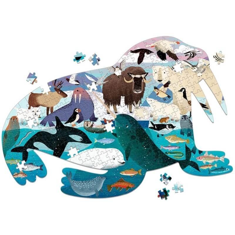 Vorm Puzzel Arctic Life / Zeeleeuw   Mudpuppy -