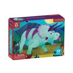 Mini puzzel Triceratops | Mudpuppy -