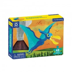 Mini puzzel Pterosaurus | Mudpuppy -