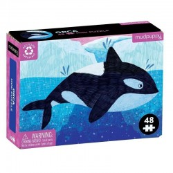 Mini puzzel Orca | Mudpuppy -