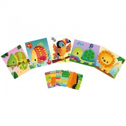 Sticker kaarten maken | Janod -