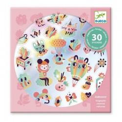 Stickers Lovely Rainbow   Djeco -
