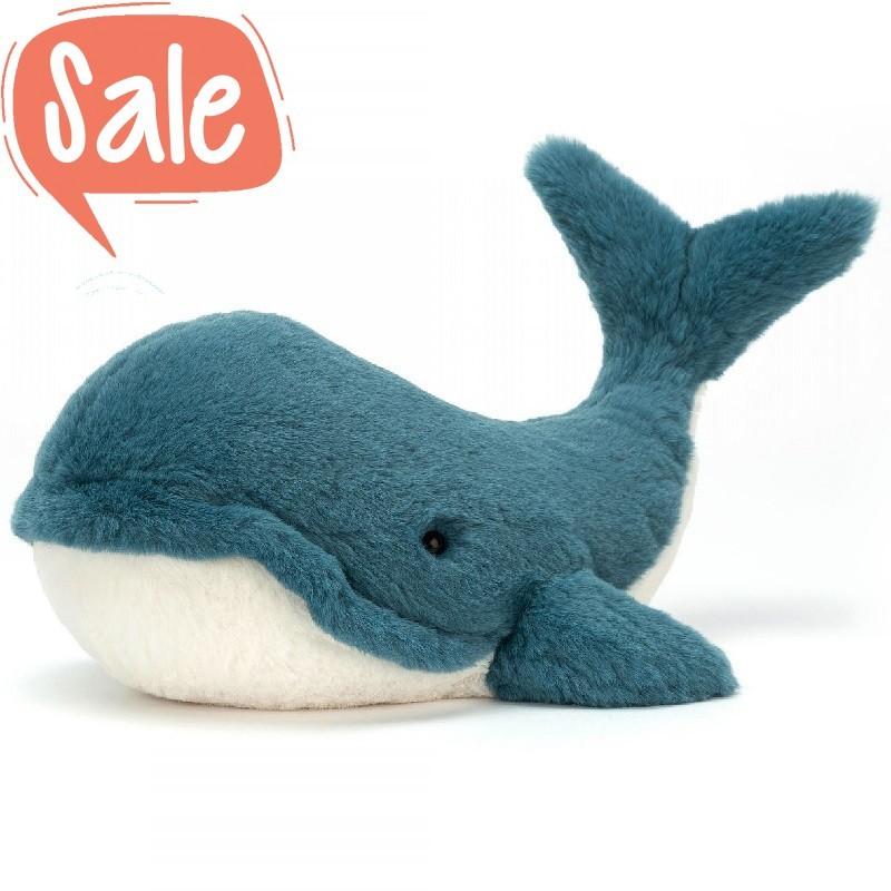 Knuffel Wally Whale medium | Jellycat -