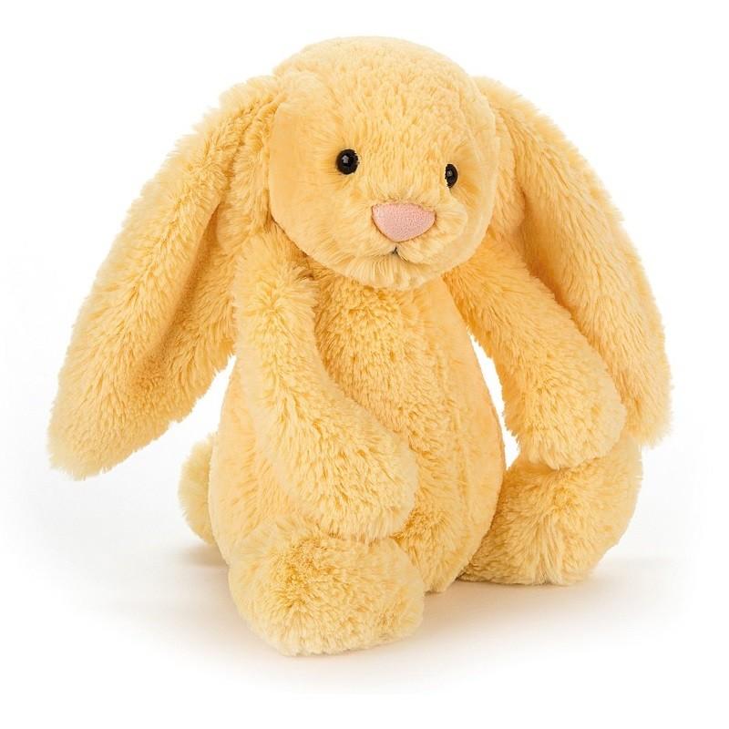 Knuffel bashful bunny lemon medium | Jellycat -