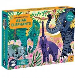 mudpuppy puzzel aziatische olifanten