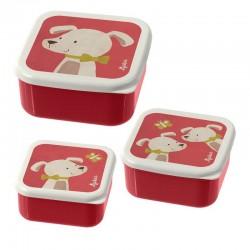Snackbox set Hond | Sigikid -