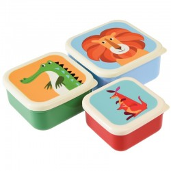 Snack doosjes set Colourful Creatures | Rex London -