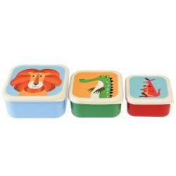 Snack doosjes set Colourful Creatures | Rex London -