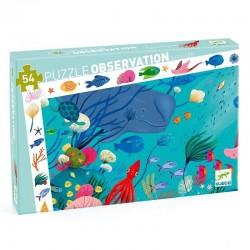 Observatie puzzel Aquatic | Djeco -