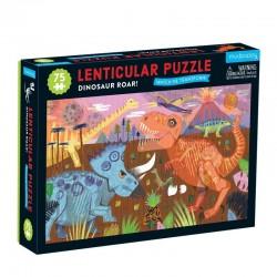 Puzzel Lenticular Dinosaurus   Mudpuppy -